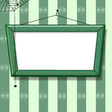 Blank picture frame with place for text Royalty Free Stock Photos