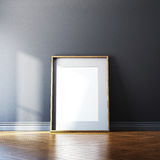 Blank picture frame and sunlight Royalty Free Stock Photos
