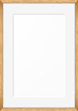 Blank picture frame. Vector template Royalty Free Stock Images