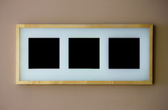 Blank picture frame Stock Photos