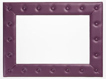 A blank picture frame on white background Royalty Free Stock Photography
