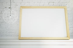 Blank picture frame Royalty Free Stock Photo