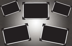 Blank picture frames Royalty Free Stock Photo