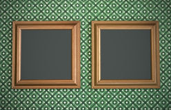 Blank picture frames Royalty Free Stock Images