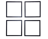 Blank Picture Frames Isolated Royalty Free Stock Photography
