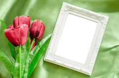 Blank Picture frames. Stock Images