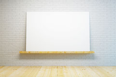 Blank picture in the room Royalty Free Stock Images