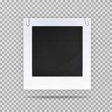 Blank picture or square frame for portrait Stock Photo