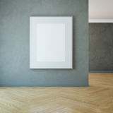 Blank picture on the wall Stock Photos