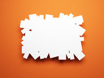 Blank pictures on the wall Royalty Free Stock Photo