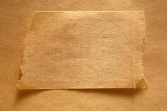 Blank piece of paper Stock Images