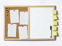 Blank Pinboard Stock Photos