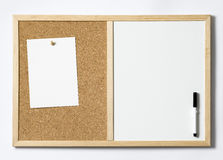 Blank Pinboard Stock Photo