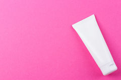 Blank white cosmetic tube pack Of Cream Or Gel Royalty Free Stock Photos