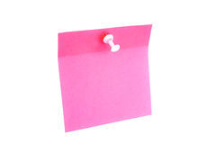 Blank pink paper Stock Photos