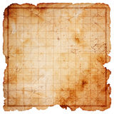 Blank Pirate Treasure Map Stock Images