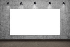 Blank placard Royalty Free Stock Images
