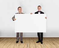 Blank placard Royalty Free Stock Photos