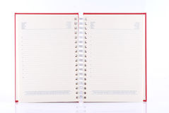 Blank planner Royalty Free Stock Photos