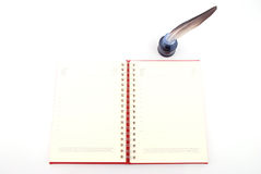 Blank planner Stock Photo