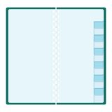 Blank planning organizer Stock Images