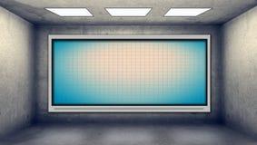 Blank plasma tv Stock Image