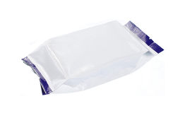 Blank plastic pack Stock Photography