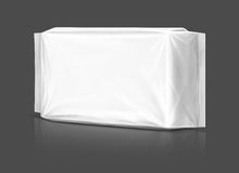 Blank plastic pouch packaging Stock Photo