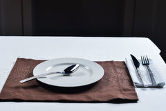 The blank plate Stock Image