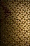 Blank platta för guld Arkivfoto