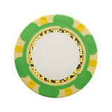 Blank Poker Chip Royalty Free Stock Image