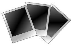 blank polaroid Royaltyfri Foto