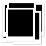 Blank Polaroid 3 Stock Photo