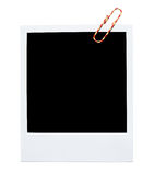 Blank polaroid frame Royalty Free Stock Images