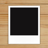 Blank polaroid photo frame Stock Photo