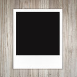 Blank polaroid photo frame Royalty Free Stock Photos