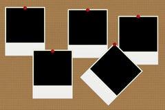 Blank polaroid photos Royalty Free Stock Image