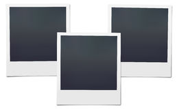 Blank Polaroid Stock Image