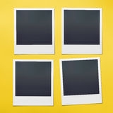 Blank Polaroids Stock Photography