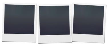 Blank Polaroids Stock Image