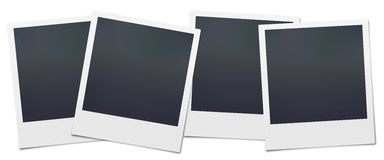 Blank Polaroids Stock Images