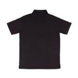 Blank polo shirt. (back side) on white background Royalty Free Stock Photo