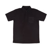 Blank polo shirt Stock Images