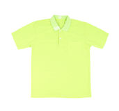 Blank polo shirt Stock Image