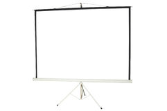 Free Blank Portable Projector Screen Stock Photos - 7358173
