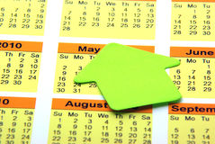 Blank post it Royalty Free Stock Image