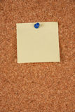 Blank post it Royalty Free Stock Photography