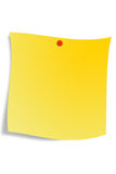 Blank post-it Stock Photo