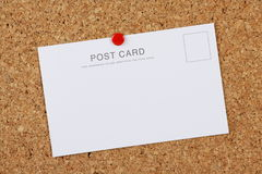 Blank Post Card Royalty Free Stock Images