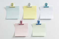 Blank post colored Stock Images